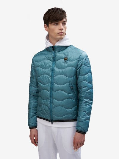 BRYANT HORIZONTAL WAVE-QUILTED DOWN JACKET