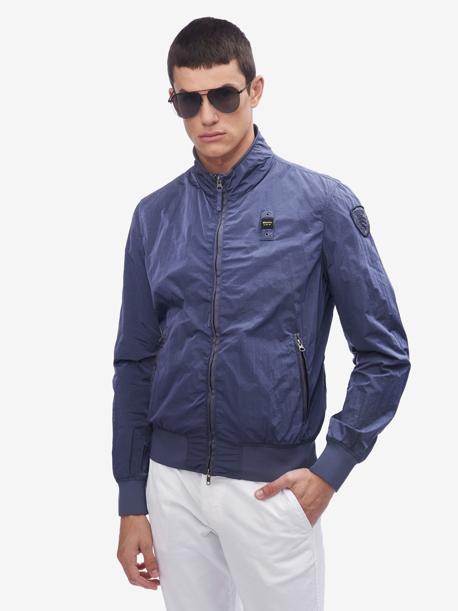JACOBS UNLINED BOMBER JACKET - Blauer