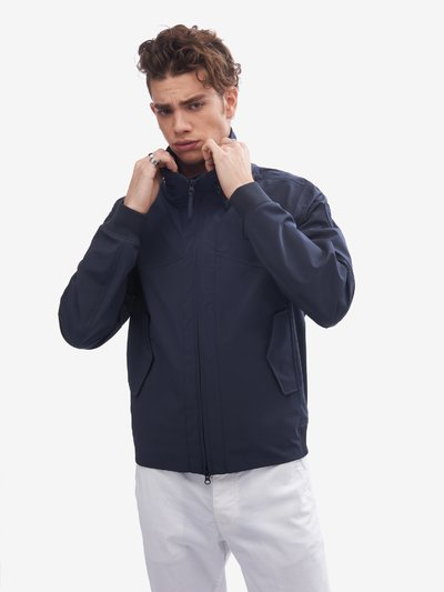 PAUL UNLINED TAPED NEOPRENE JACKET