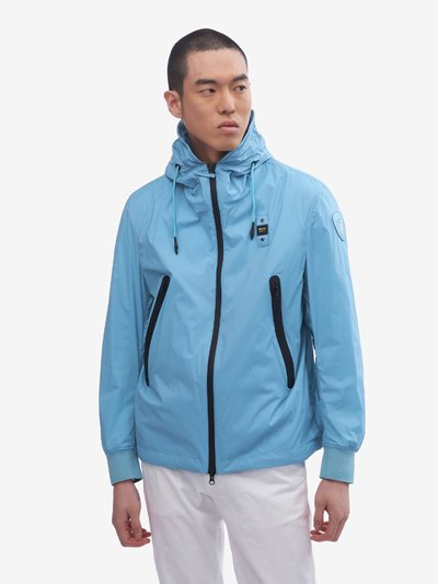 SOUTHERLAND MATTE JACKET WITH HOOD