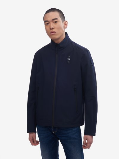 MAXWELL JACKET WITH COATED ZIP