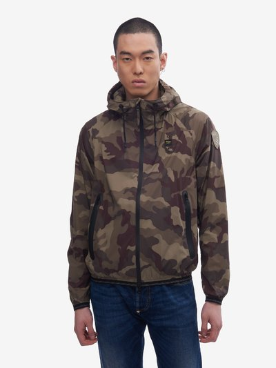 SIMMONS CAMOUFLAGE JACKET WITH HOOD