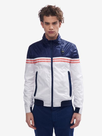 GILBERT UNLINED TRANSPARENT NYLON JACKET