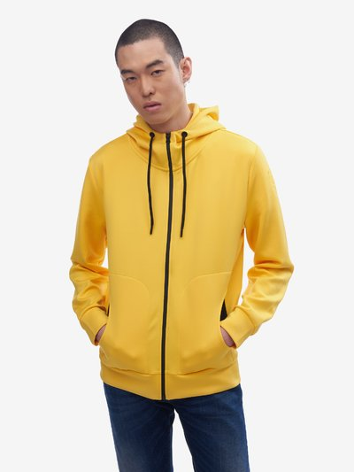 NEOPRENE HOODED SWEATSHIRT