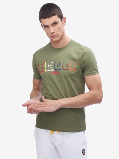 COLOURFUL BLAUER T-SHIRT