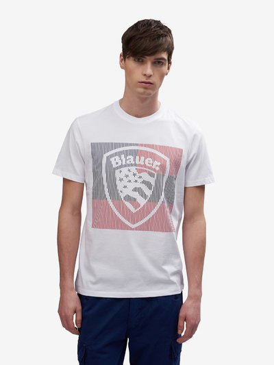 BLAUER SHIELD T-SHIRT