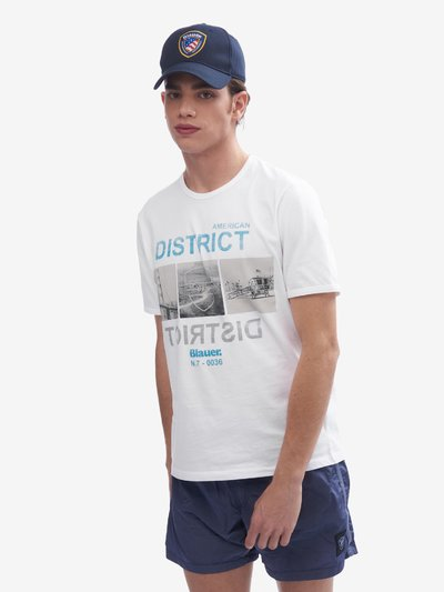 T-SHIRT  AMERICAN DISTRICT