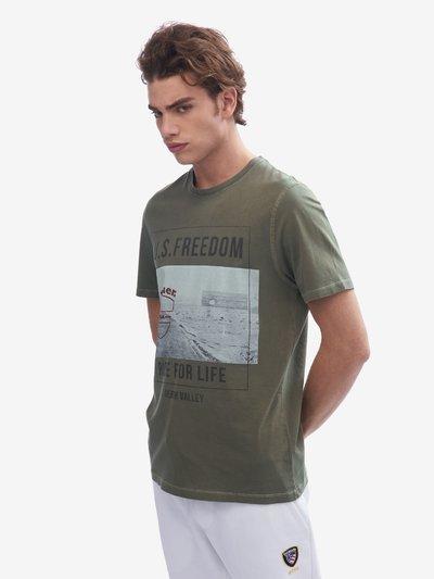HERREN-T-SHIRT U.S. FREEDOM