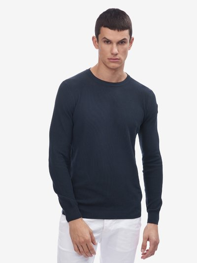 PIQUET KNIT SWEATER