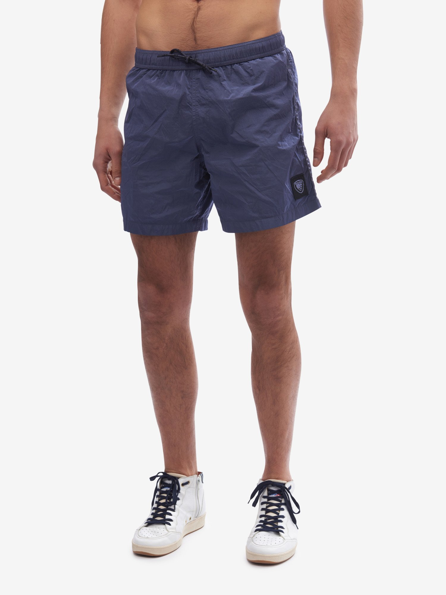 BOXER  TINTO IN CAPO OLD - Blauer