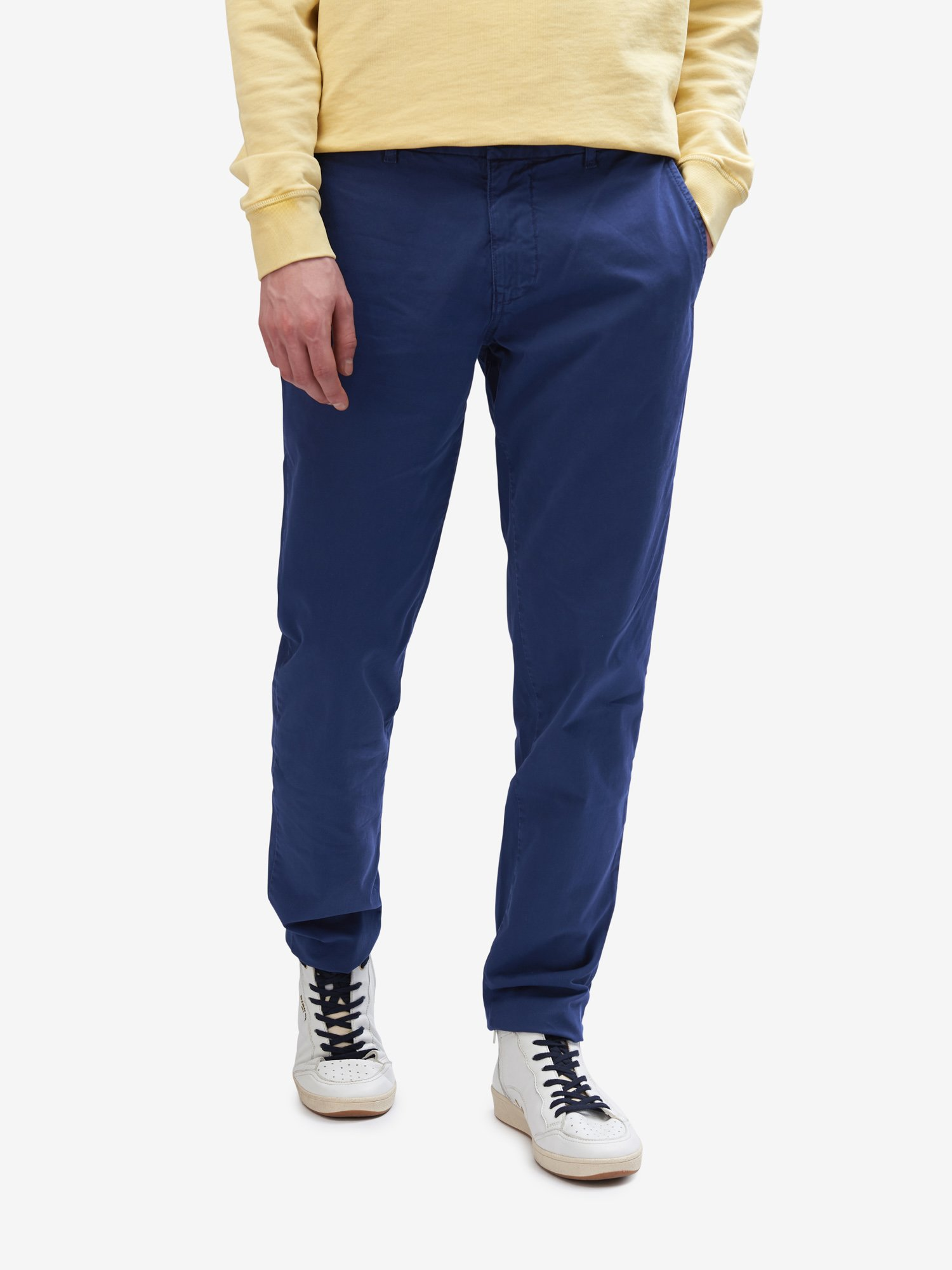 LONG COTTON TROUSERS - Blauer