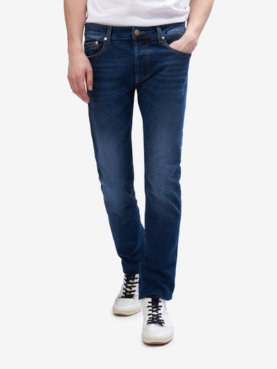 BOSTON 5 POCKET BLUE JEANS
