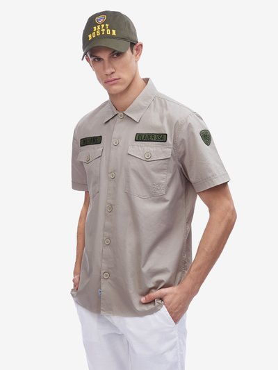 CHEMISE MANCHE COURTE MILITARY