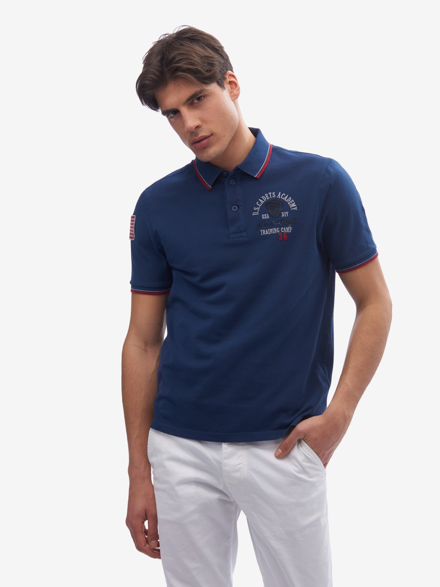 POLOSHIRT MIAMI DEPARTMENT - Blauer