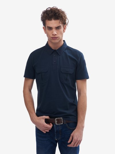 POLO WITH SHIRT COLLAR