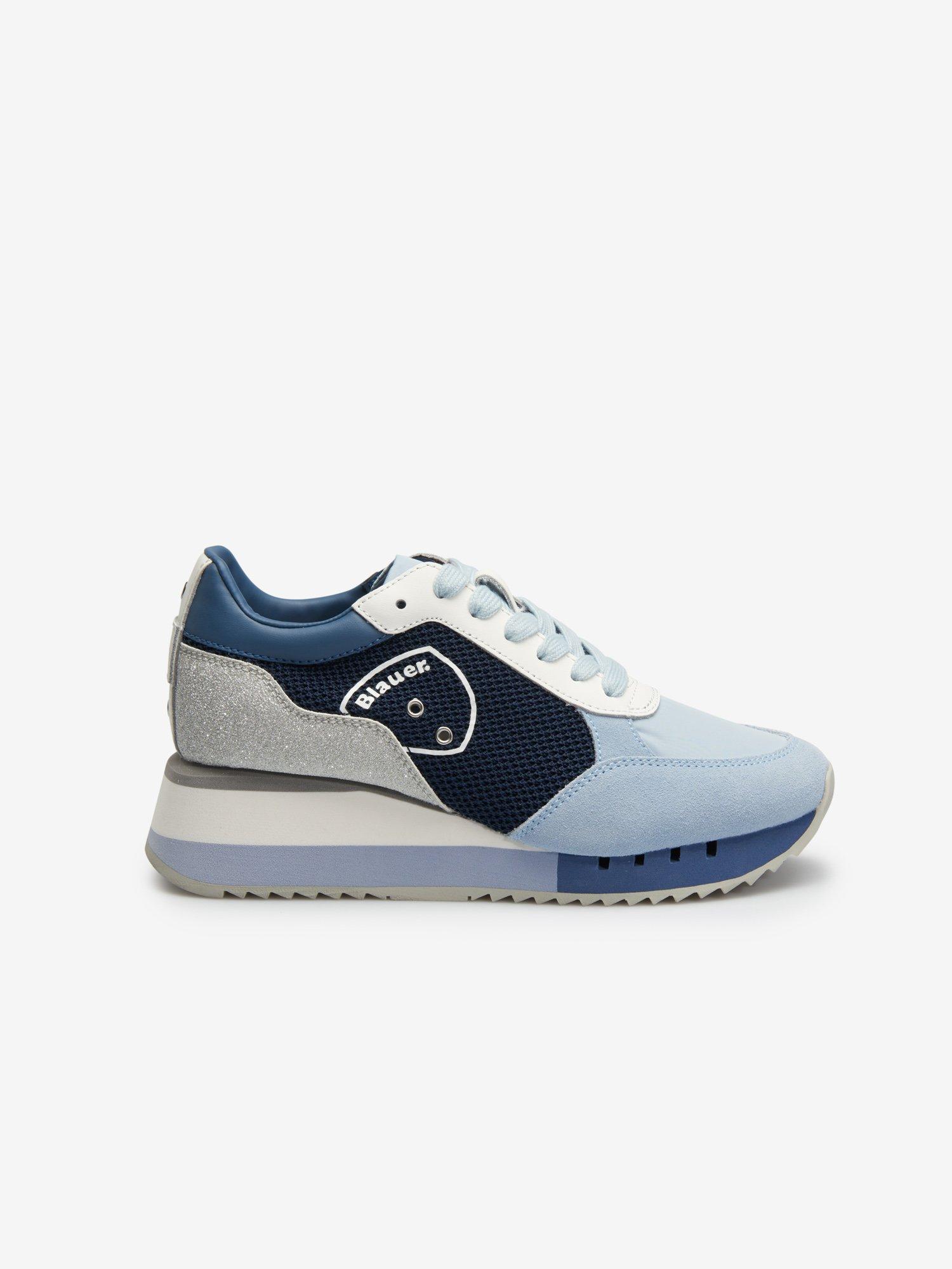 Charlotte Glitter  Sneakers - Blauer