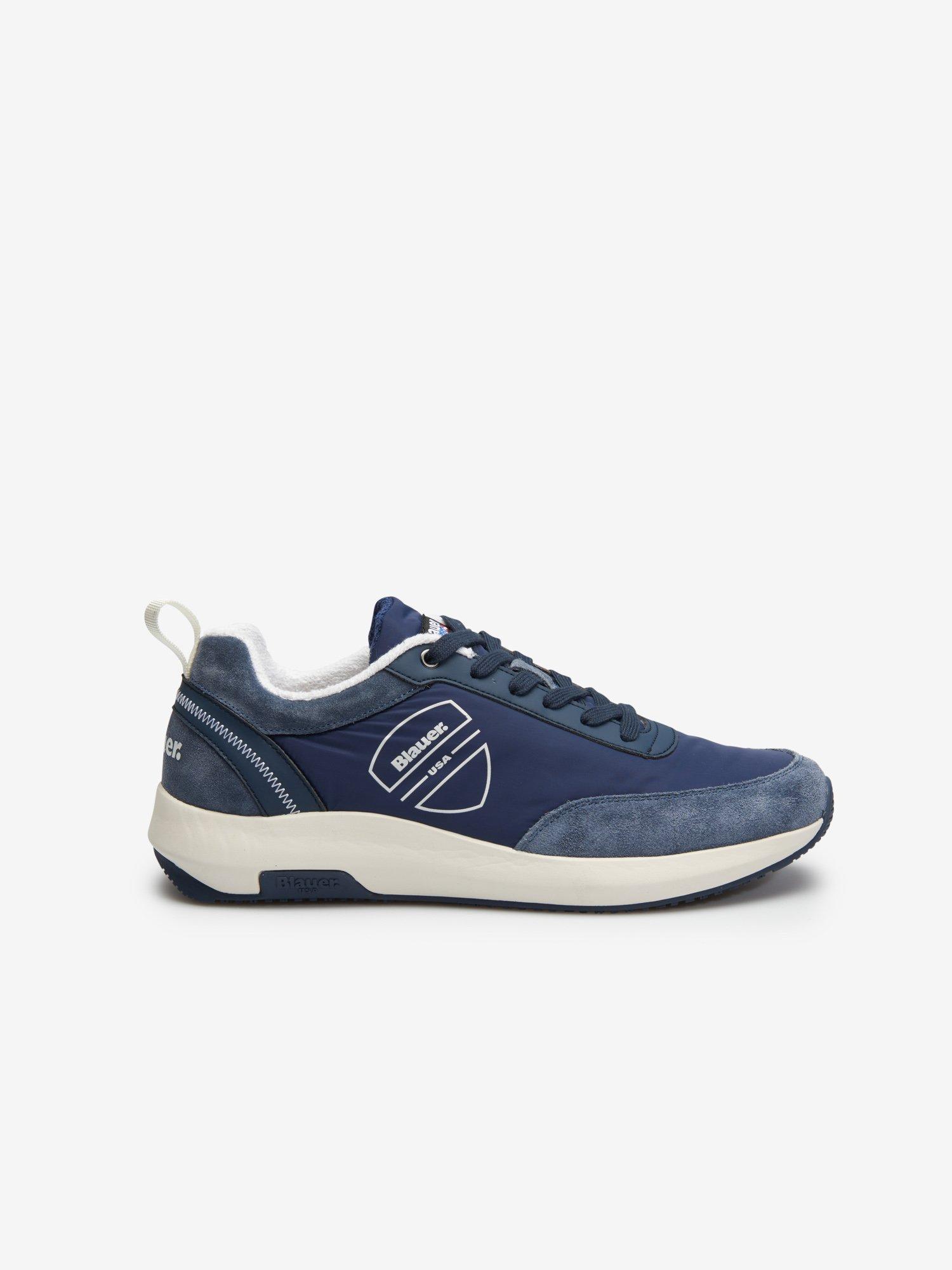 Byron Sneakers logo - Blauer