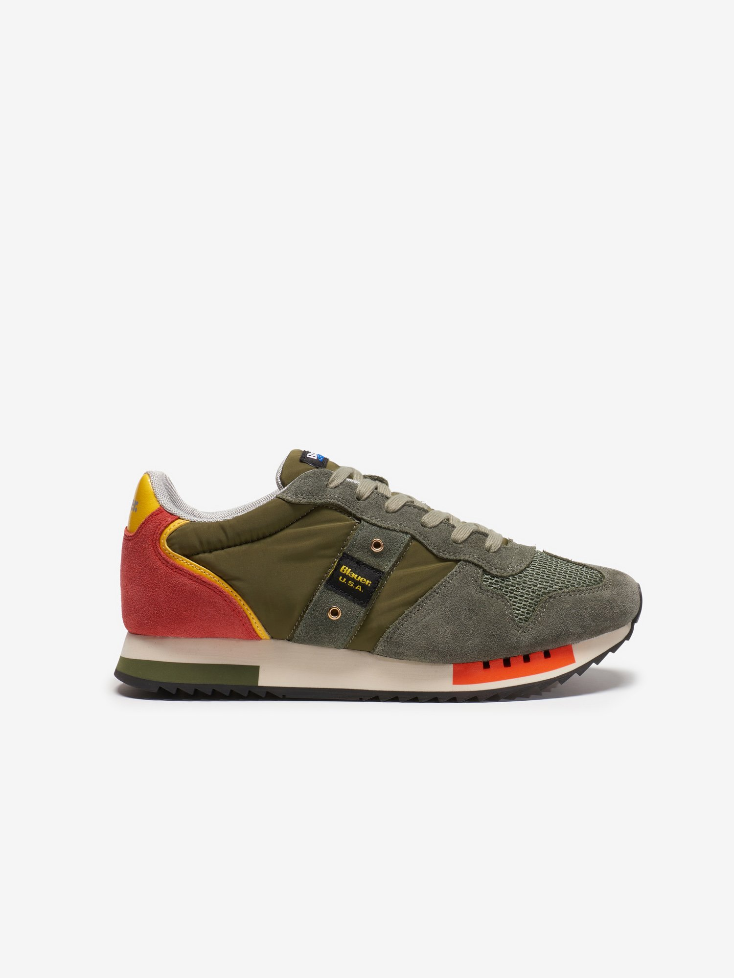 Queens Sneakers in pelle - Blauer