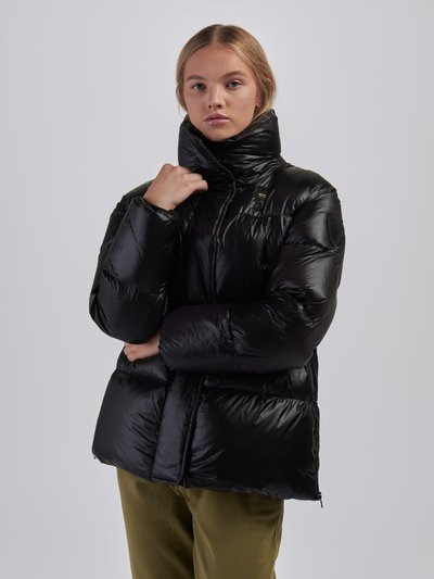 KAREN LONG DOWN JACKET IN NYLON