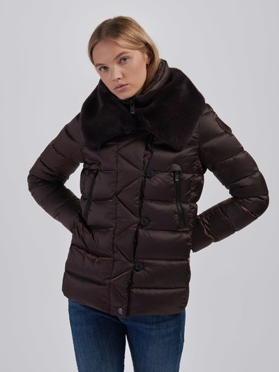 DEBORAH DOUBLE NECK DOWN JACKET