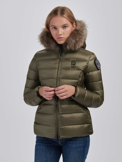 PAMELA FLARED NYLON DOWN JACKET
