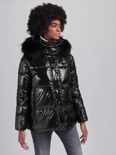 BRENDA DOWN JACKET WITH FUR HOOD TRIM