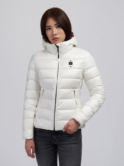 KIMBERLY WOMENS QUILTED DOWN JACKET WITH HOOD
