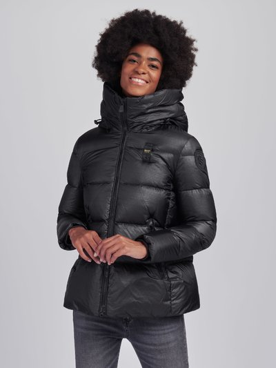 LAURA FLARED DOWN JACKET WITH HOOD