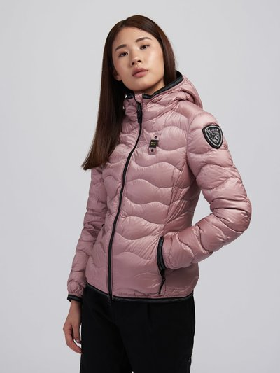 MELISSA WAVE-QUILTED DOWN JACKET