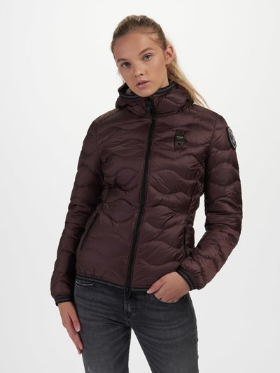 ANGIE WAVE-QUILTED DOWN JACKET