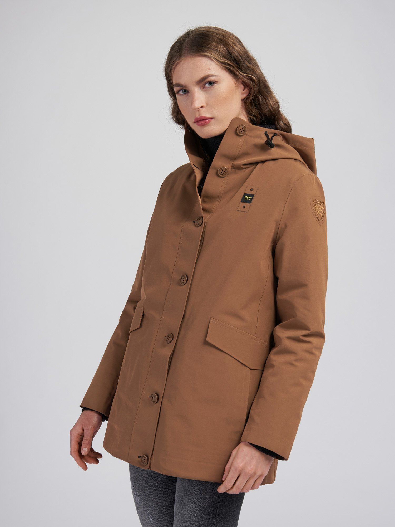 CAROLYN JACKET WITH DETACHABLE LINING - Blauer
