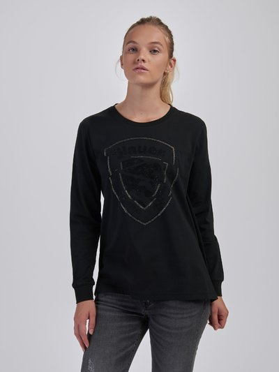 T-SHIRT CON STRASS