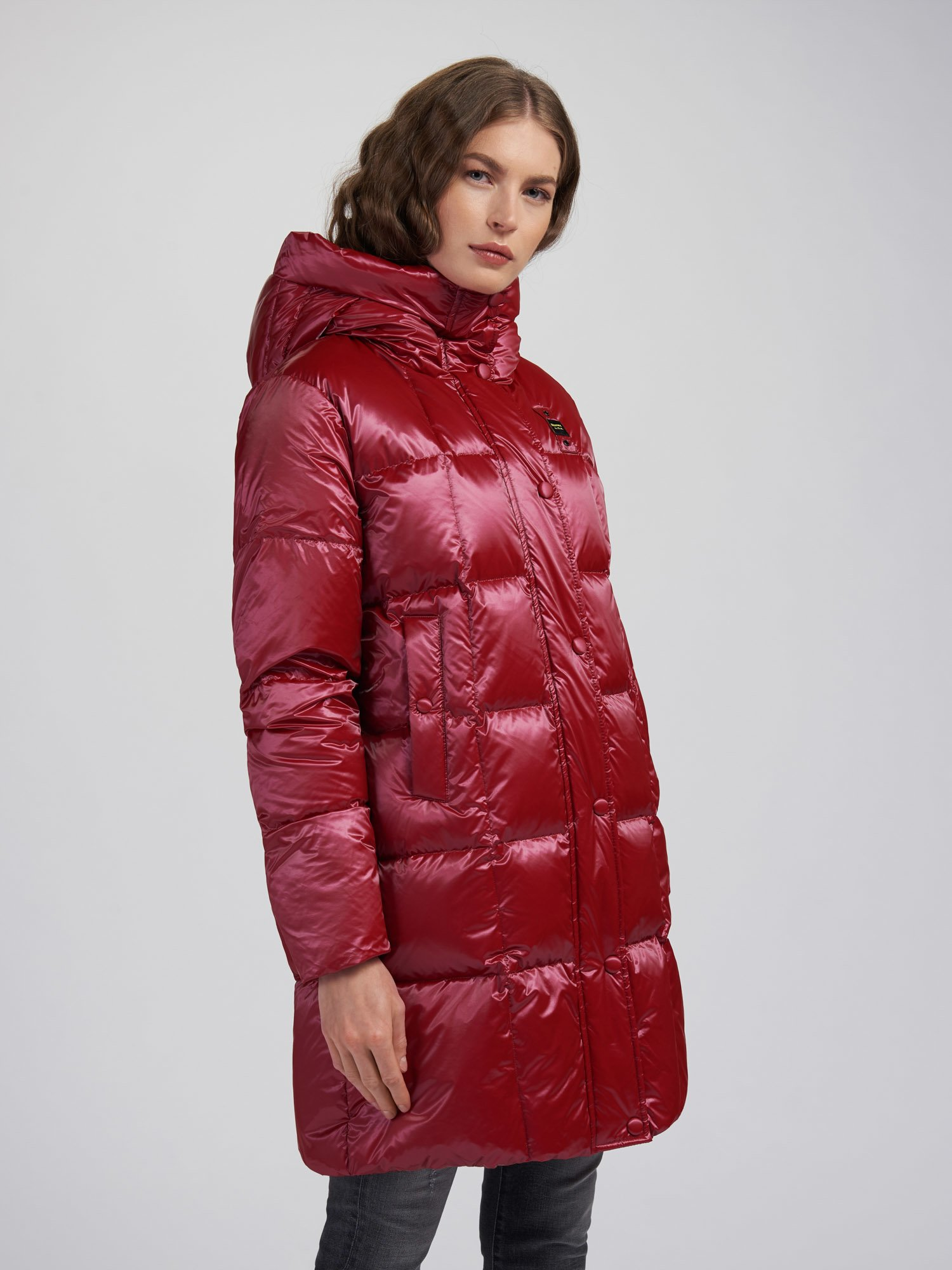 TERESA DOWN JACKET WITH SQUARE STITCHING - Blauer