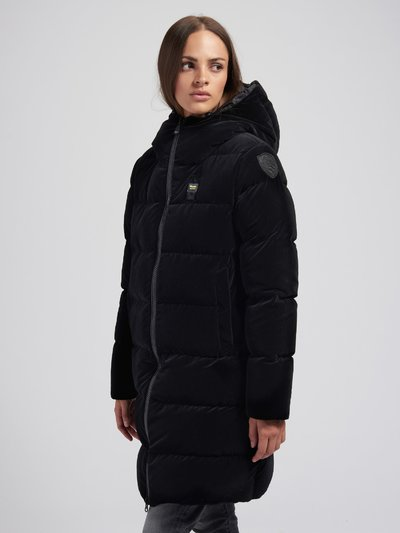 ALICE LONG DOWN JACKET IN VELVET
