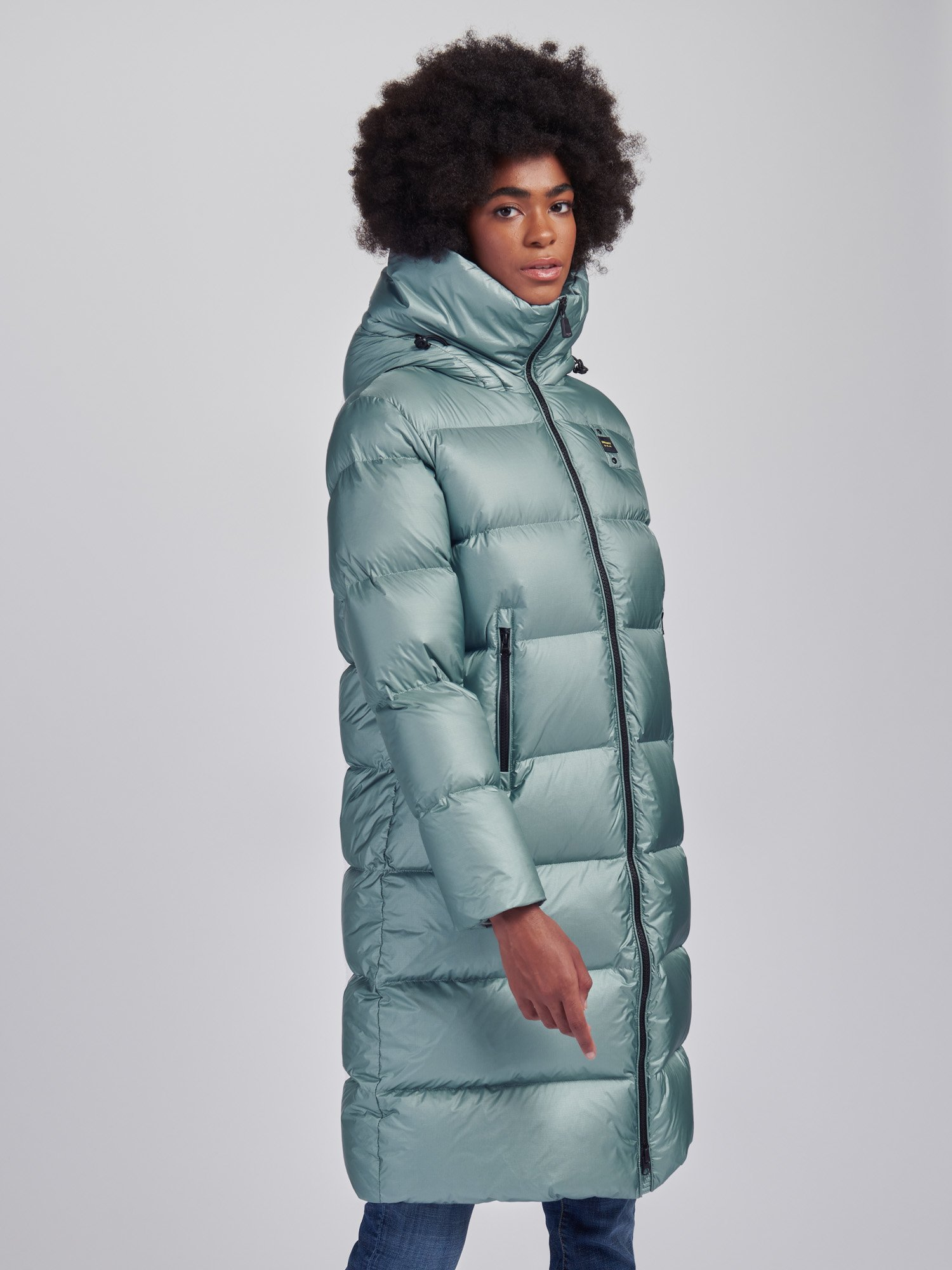 CHRISTINE LONG DOWN JACKET - Blauer