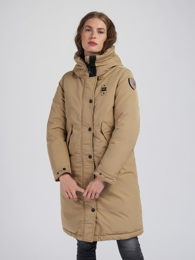 PARKA LONG EN TASLAN LIGHT JUDITH