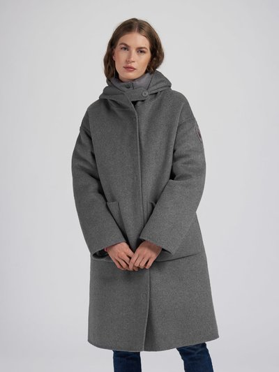 NICOLE COAT WITH HOOD