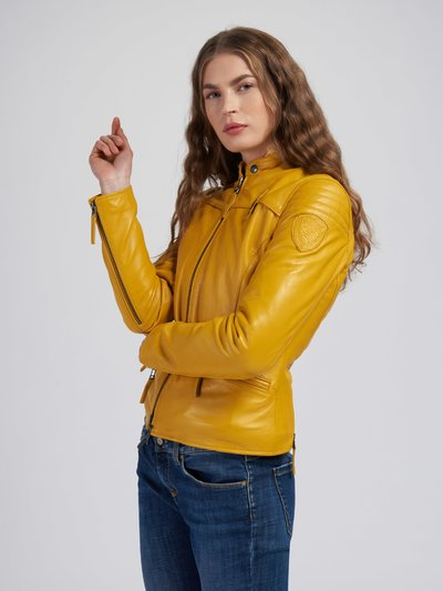 LISA LEATHER JACKET