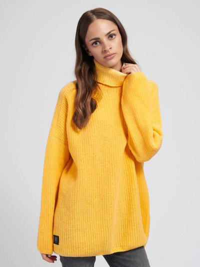 HIGH NECK SWEATER WITH CUFF