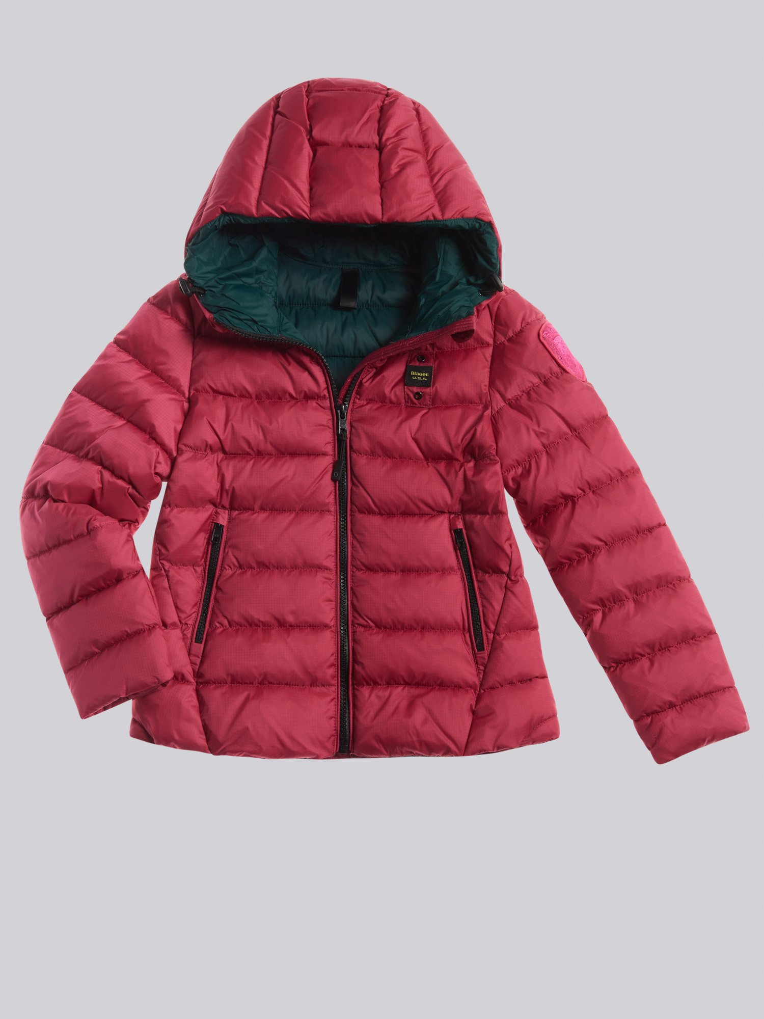 KATHY DOWN JACKET WITH HOOD - Blauer