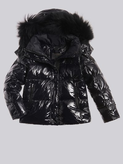 DENISE DOWN JACKET IN SHINY NYLON