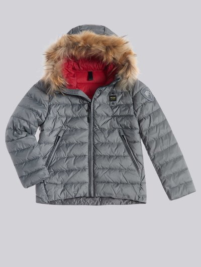 NATHAN DOWN JACKET WITH ECO FUR