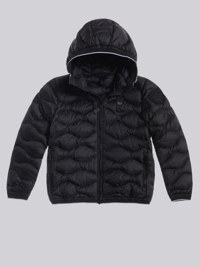 MANUEL WAVE-QUILTED DOWN JACKET