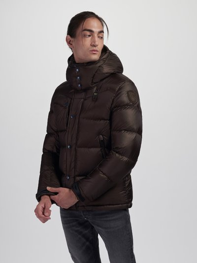 DOUGLAS DOWN JACKET WITH DETACHABLE HOOD