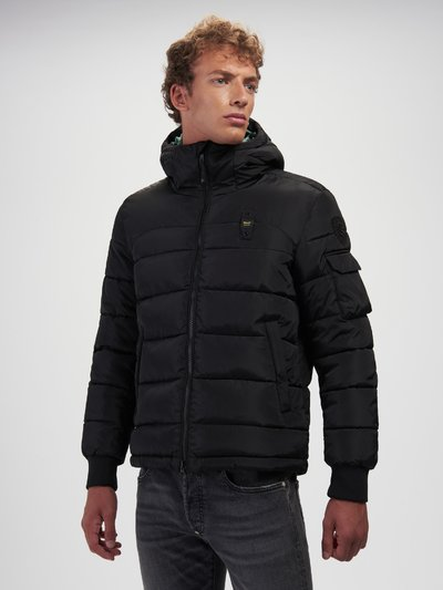 RED RECYCLED PADDED JACKET