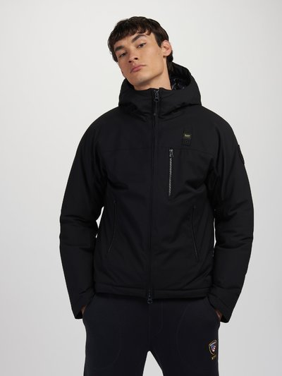 TODD WOOL EFFECT DOWN JACKET