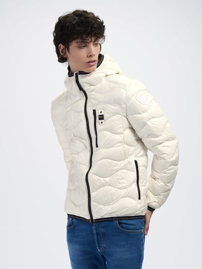 ROY WAVE-QUILTED DOWN JACKET