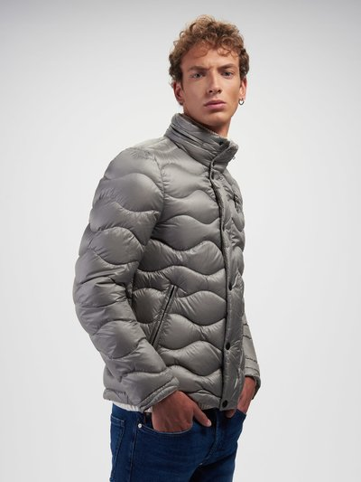 ADAM WAVE-QUILTED DOWN JACKET