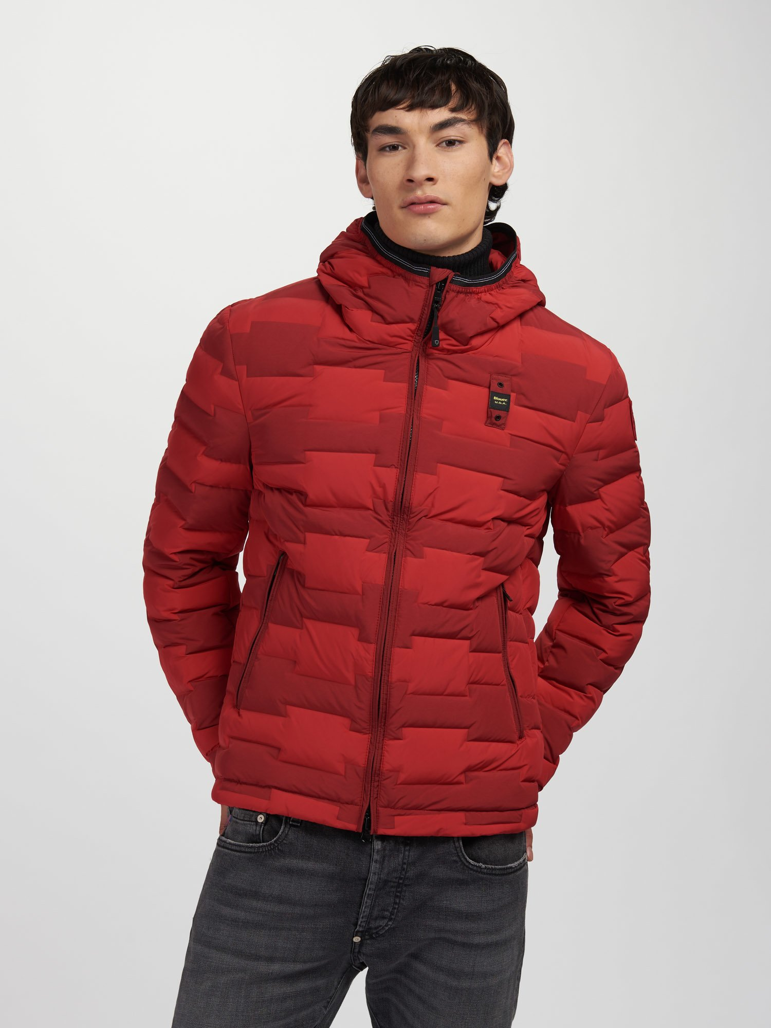 RANDY LIGHT-DARK DOWN JACKET - Blauer