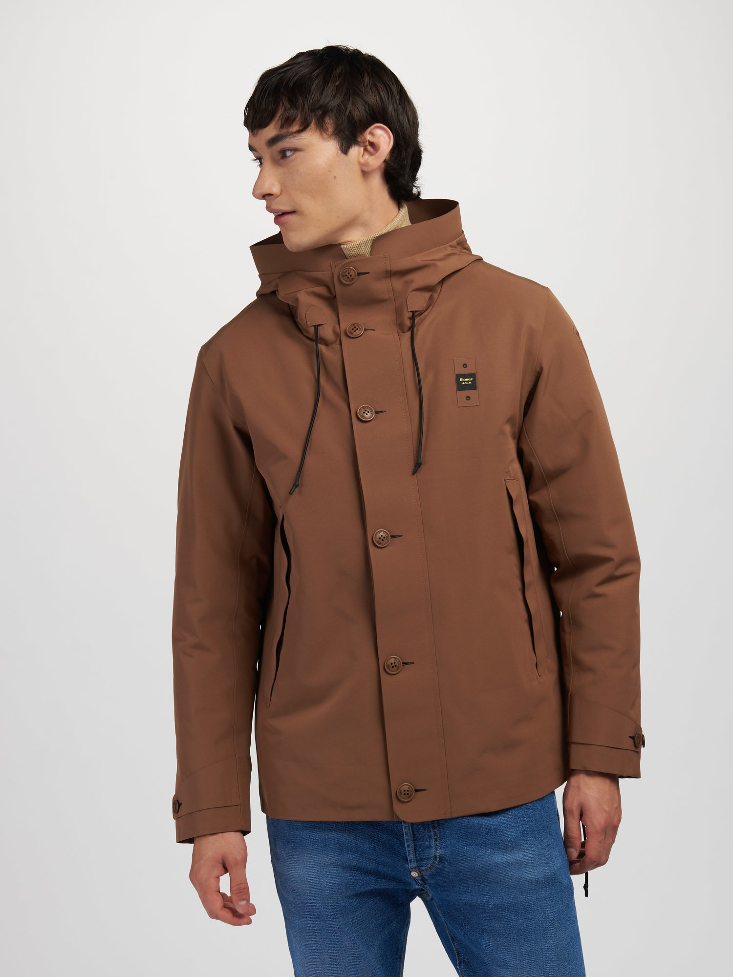 ERNEST JACKET WITH DETACHABLE LINING - Blauer